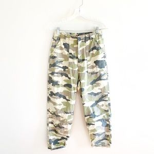 Divided H & M Camo Camouflage Baggy Cargo Pants